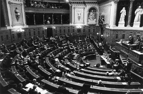 La Senato, parlamenta asembleo kun malrekta baloto