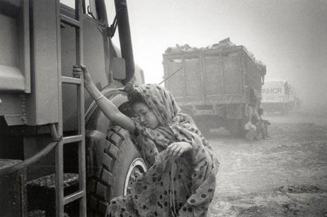 Mauritanio, 1999. Rehejmigo de maliaj rifuĝintoj al ilia devena regiono, Timbuktu (Fotografisto: Alain Kazinierakis)